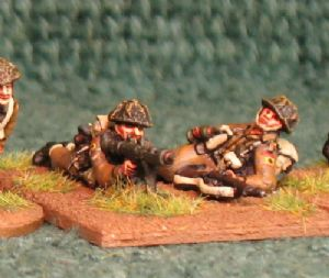 20mm, WW2 British Infantry BLA14 AB 4 figures